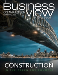 Summer/Fall 2019 issue cover of Business View Oceania