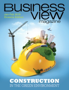 January 2019 issue cover of Business View Magazine, Oceania Edition