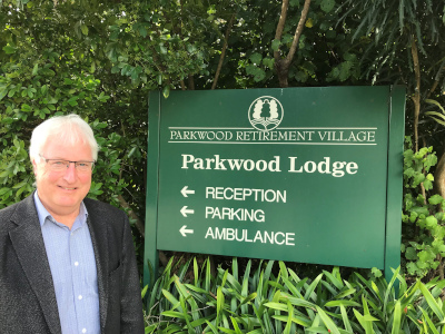 Parkwood Retirement Village & Lodge General Manager, Mark Rouse