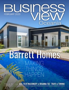 February 2020 Issue Cover Business View Oceania.