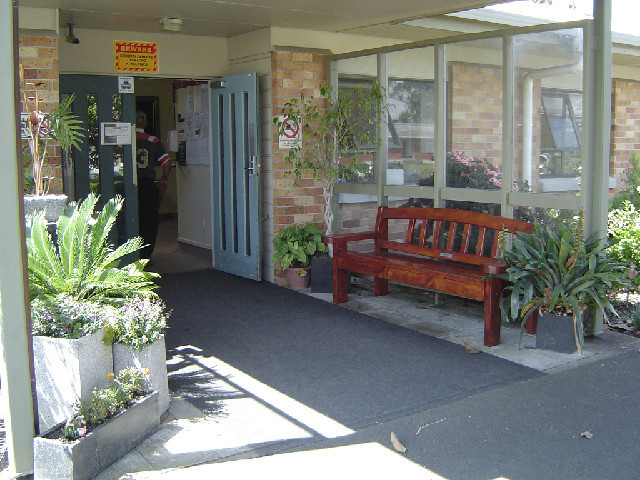 Kimihia Home & Hospital, entrance