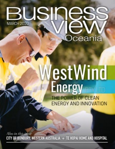 March 2020 issue cover of Business View Oceania