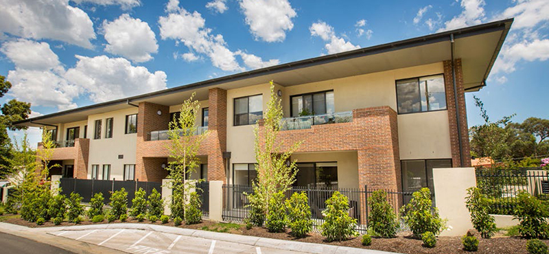 Lynden Aged Care building