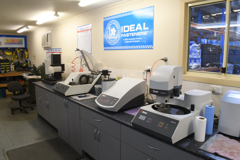 Ideal Fasteners Pty Ltd machines
