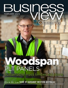 February 2021 Issue cover of Business View Oceania