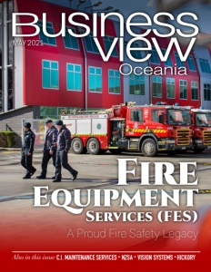 May 2021 issue cover of Business View Oceania