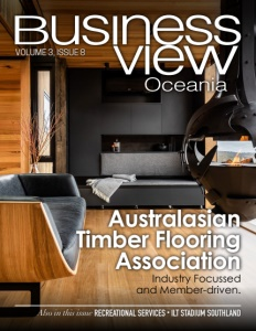 Volume 3, Issue 8 cover of Business View Oceania