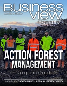Volume 3, Issue 9 cover of Business View Oceania